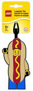 bagagelabel lego hotdogverkoper 5005582