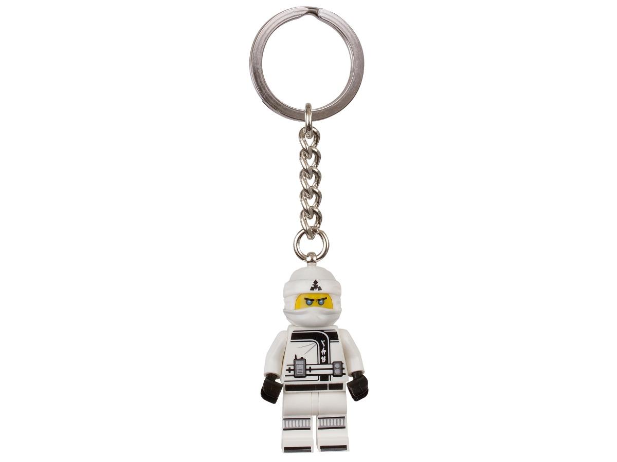 de lego ninjago film zane sleutelhanger 853695