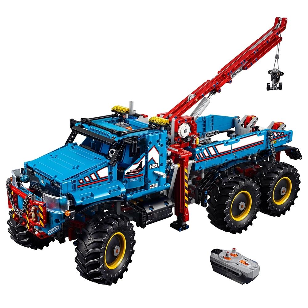 lego 6x6 allterrain sleepwagen 42070