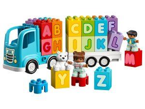 lego alfabet vrachtwagen 10915
