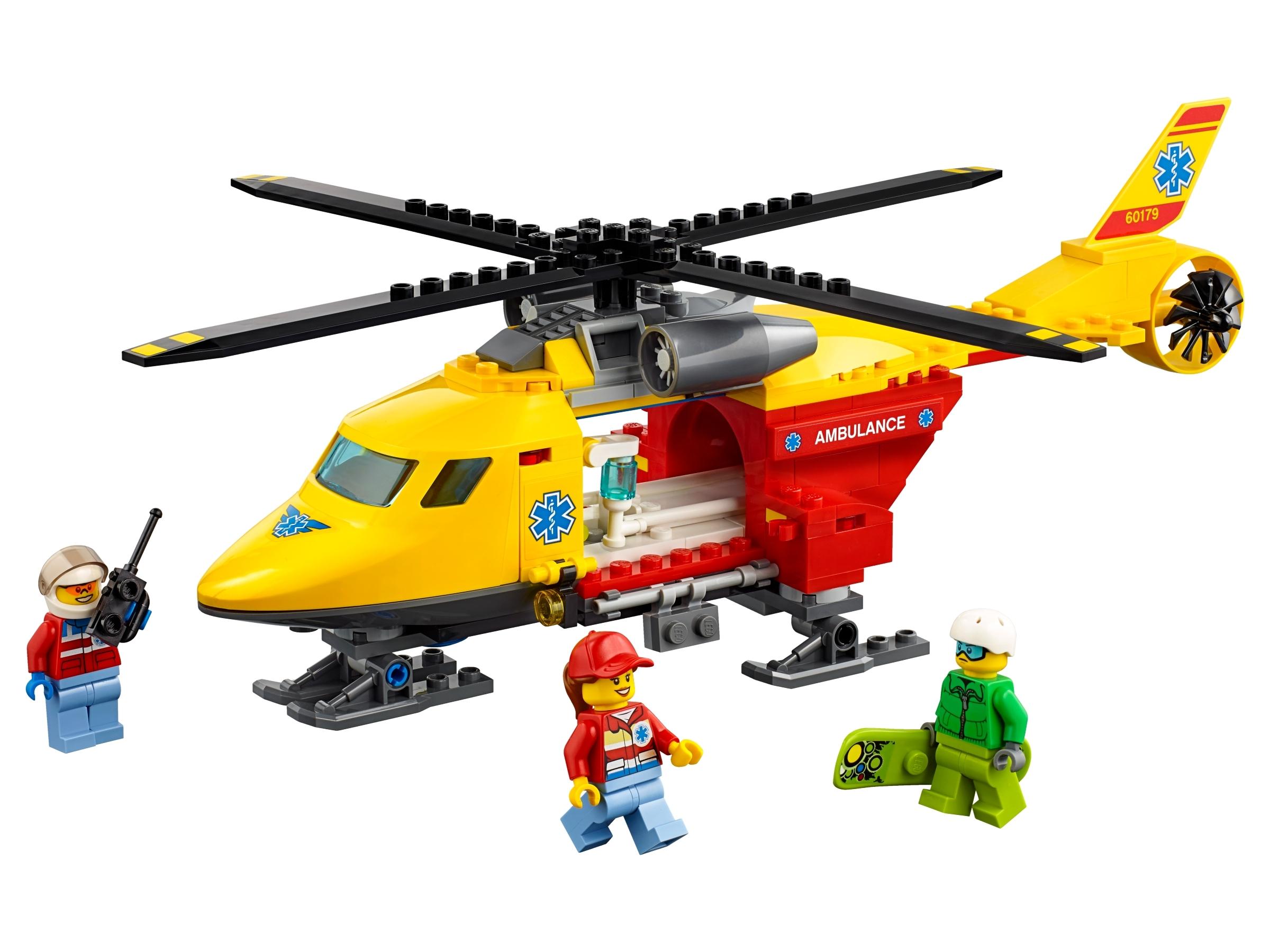 lego ambulancehelikopter 60179