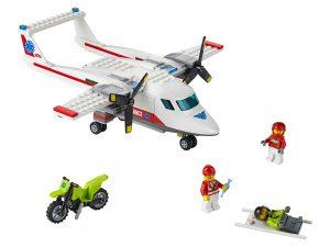 lego ambulancevliegtuig 60116