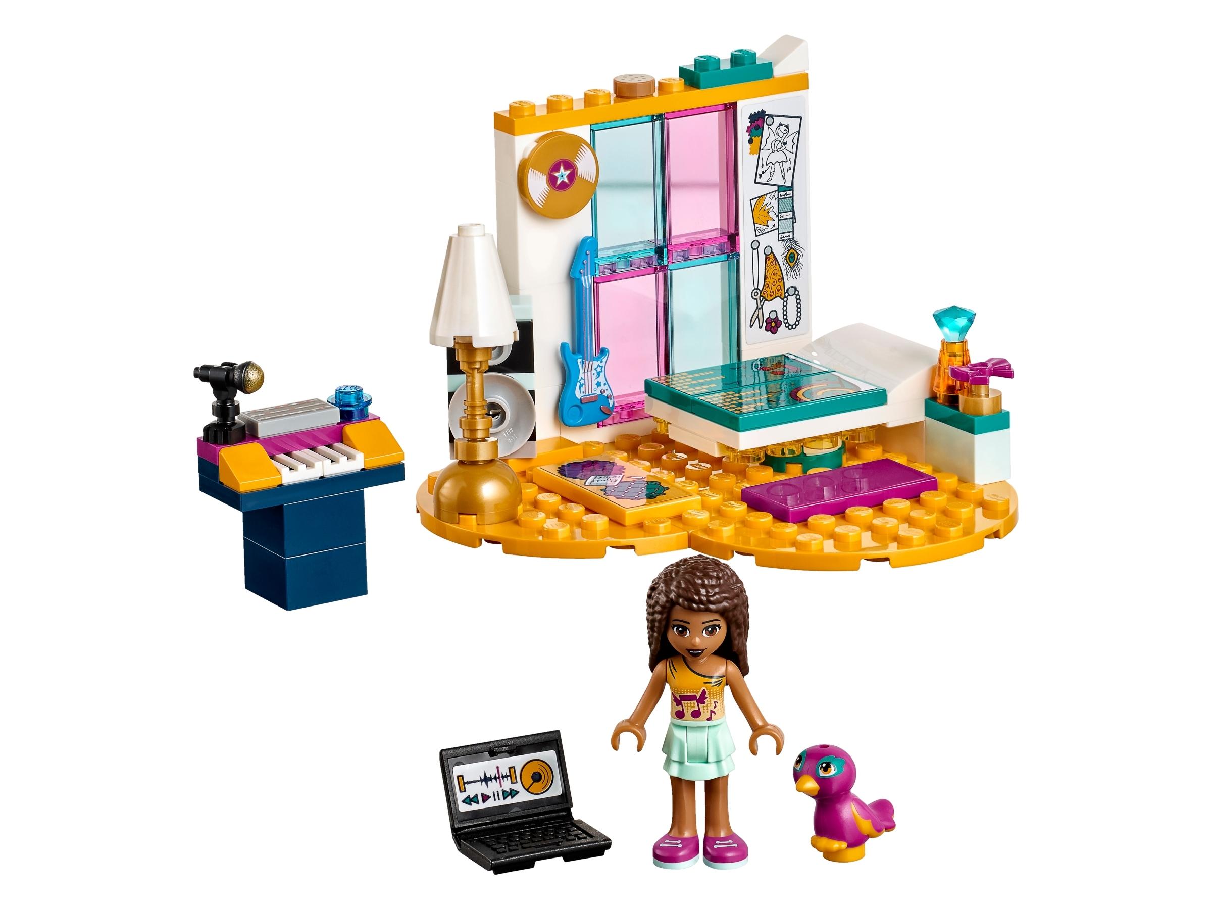lego andreas slaapkamer 41341