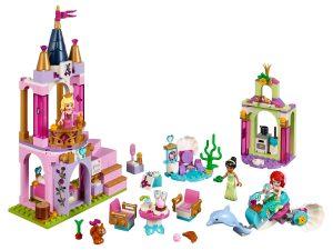 lego ariels auroras en tianas koninklijke viering 41162