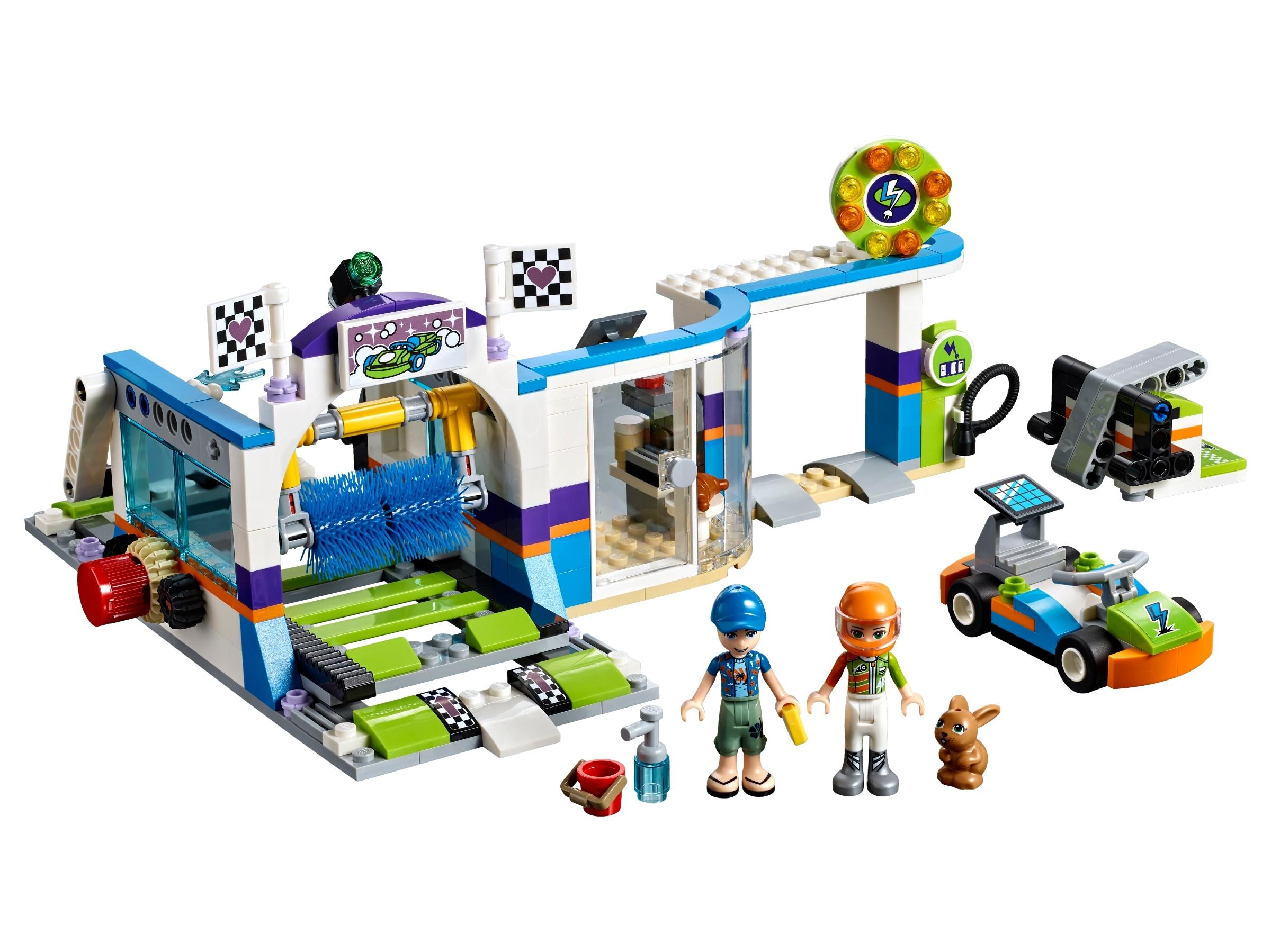 lego autowasstraat 41350