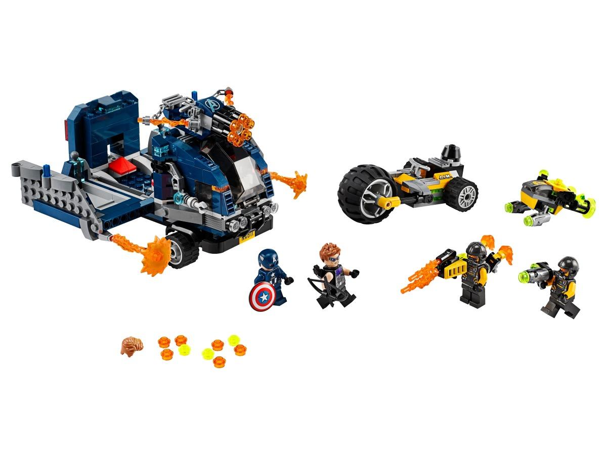 lego avengers vrachtwagenvictorie 76143
