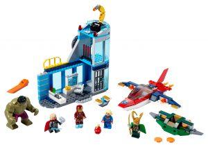 lego avengers wraak van loki 76152