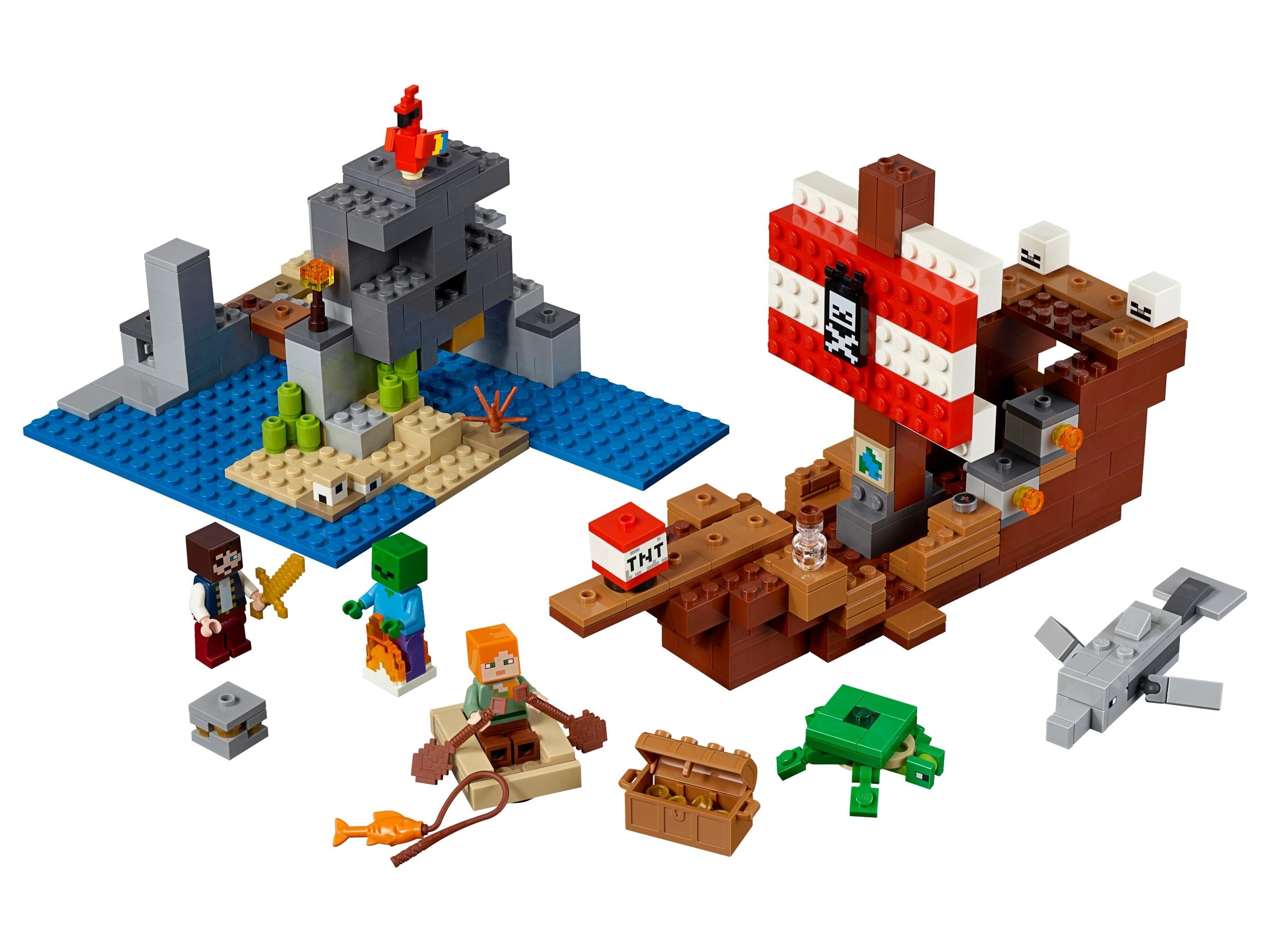 lego avontuur op het piratenschip 21152