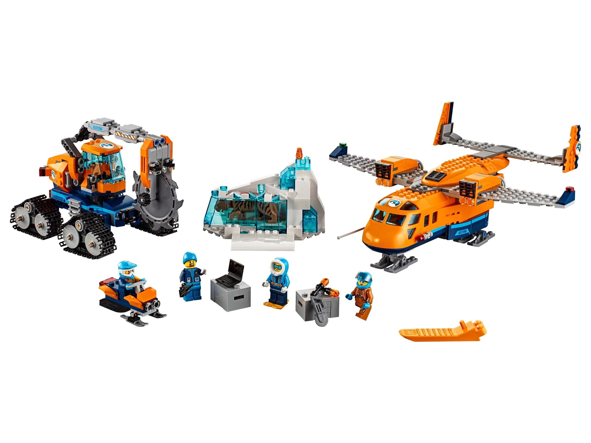 lego bevoorradingsvliegtuig voor de noordpool 60196