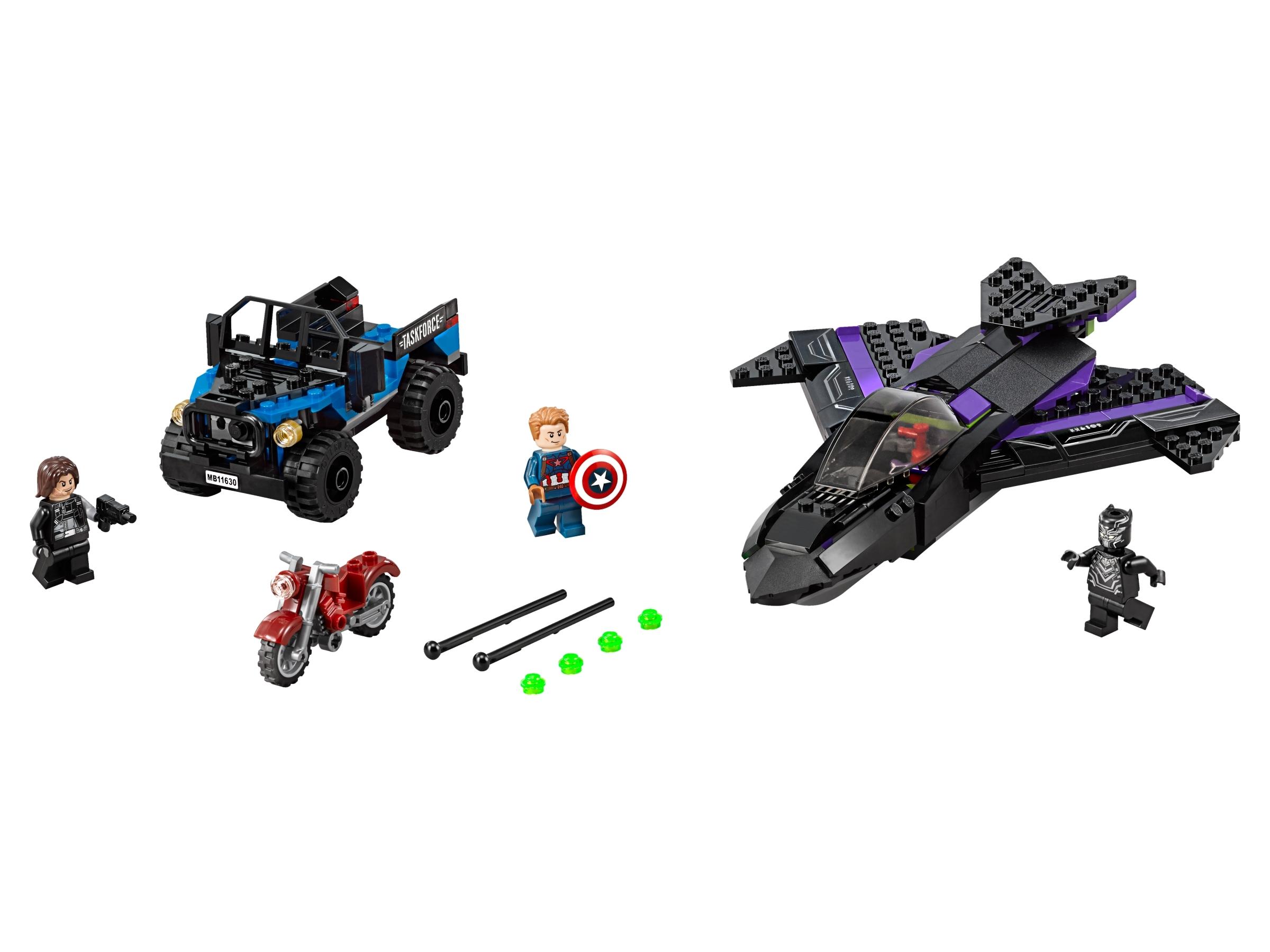 lego black panther achtervolging 76047