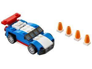 lego blauwe racer 31027