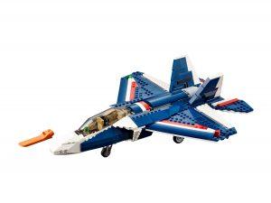 lego blauwe straaljager 31039