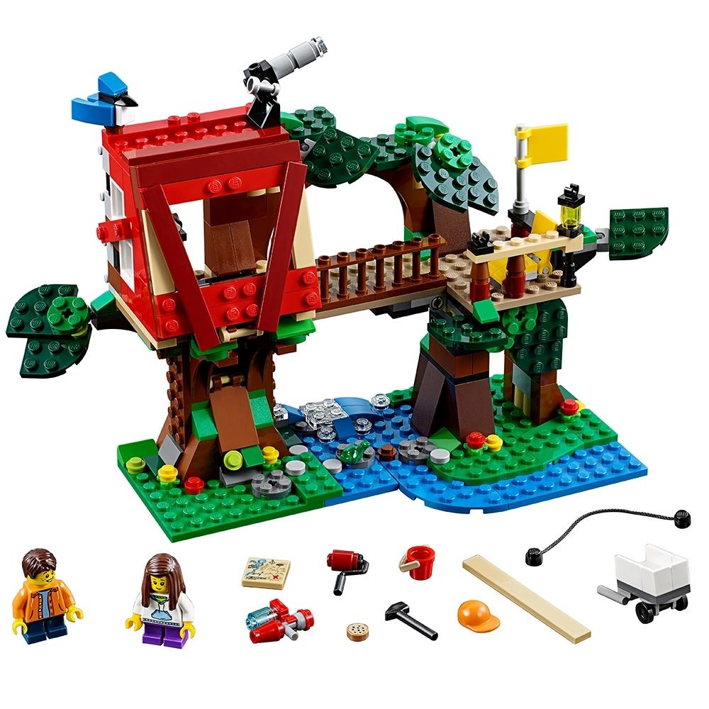 lego boomhut avonturen 31053