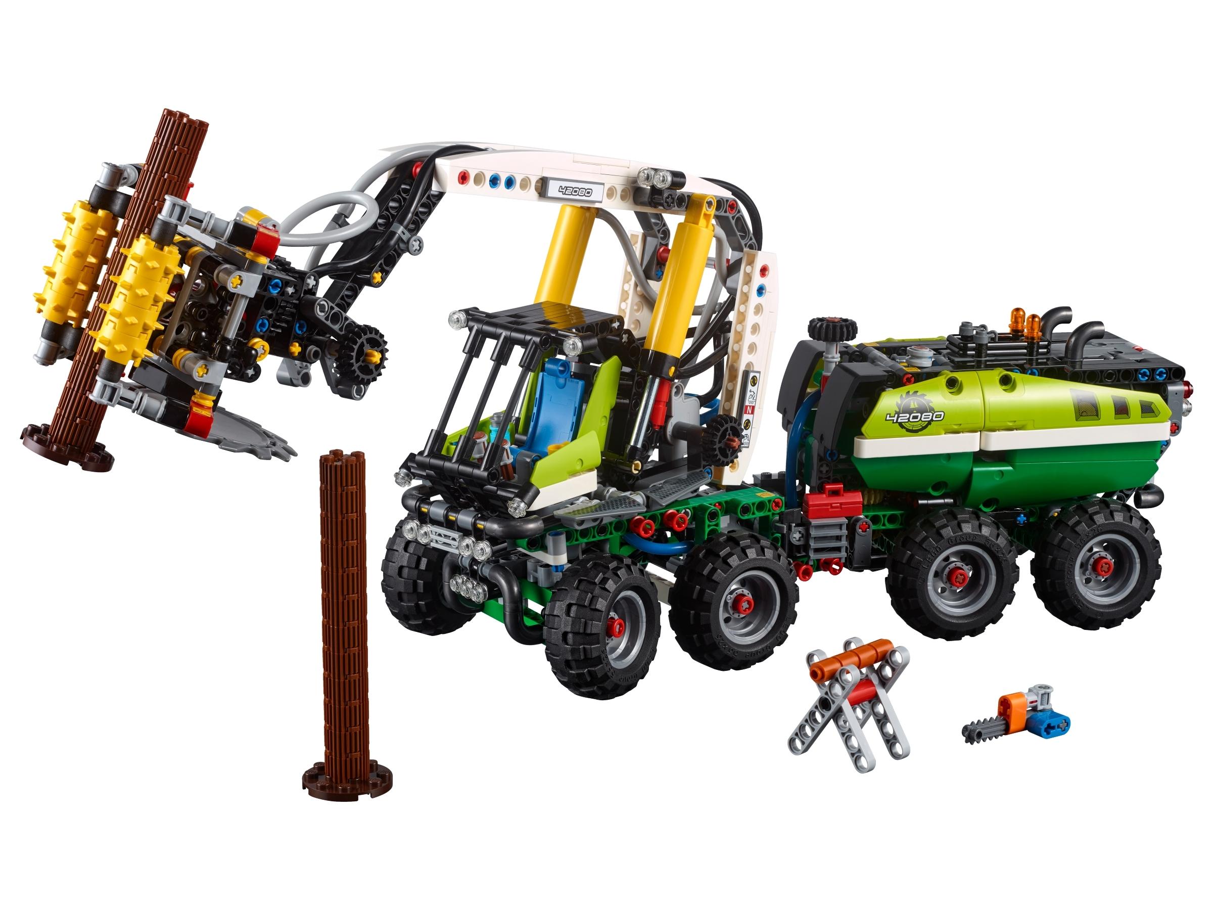 lego bosbouwmachine 42080
