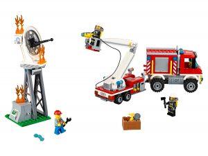 lego brandweer hulpvoertuig 60111