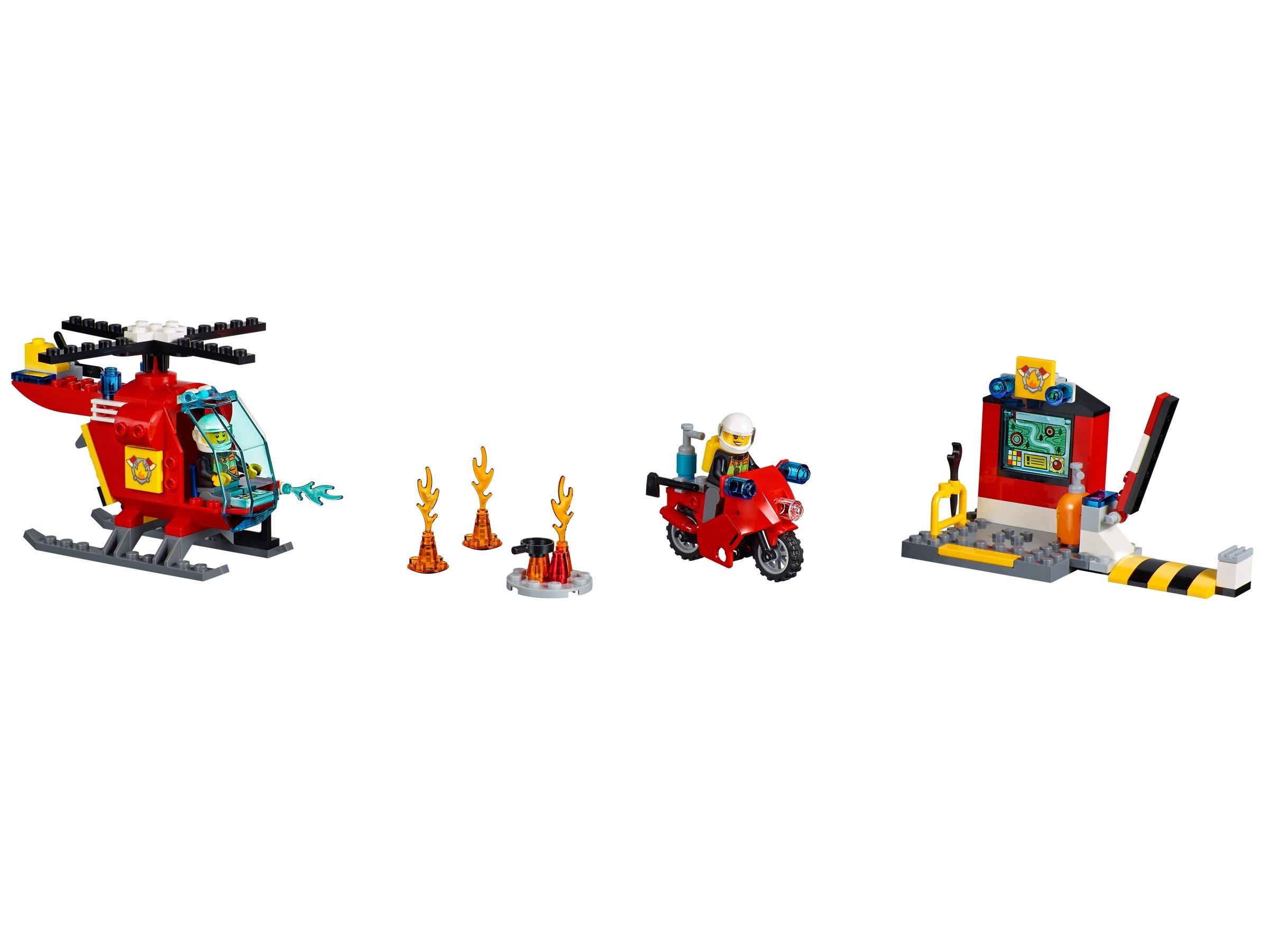 lego brandweer koffer 10685