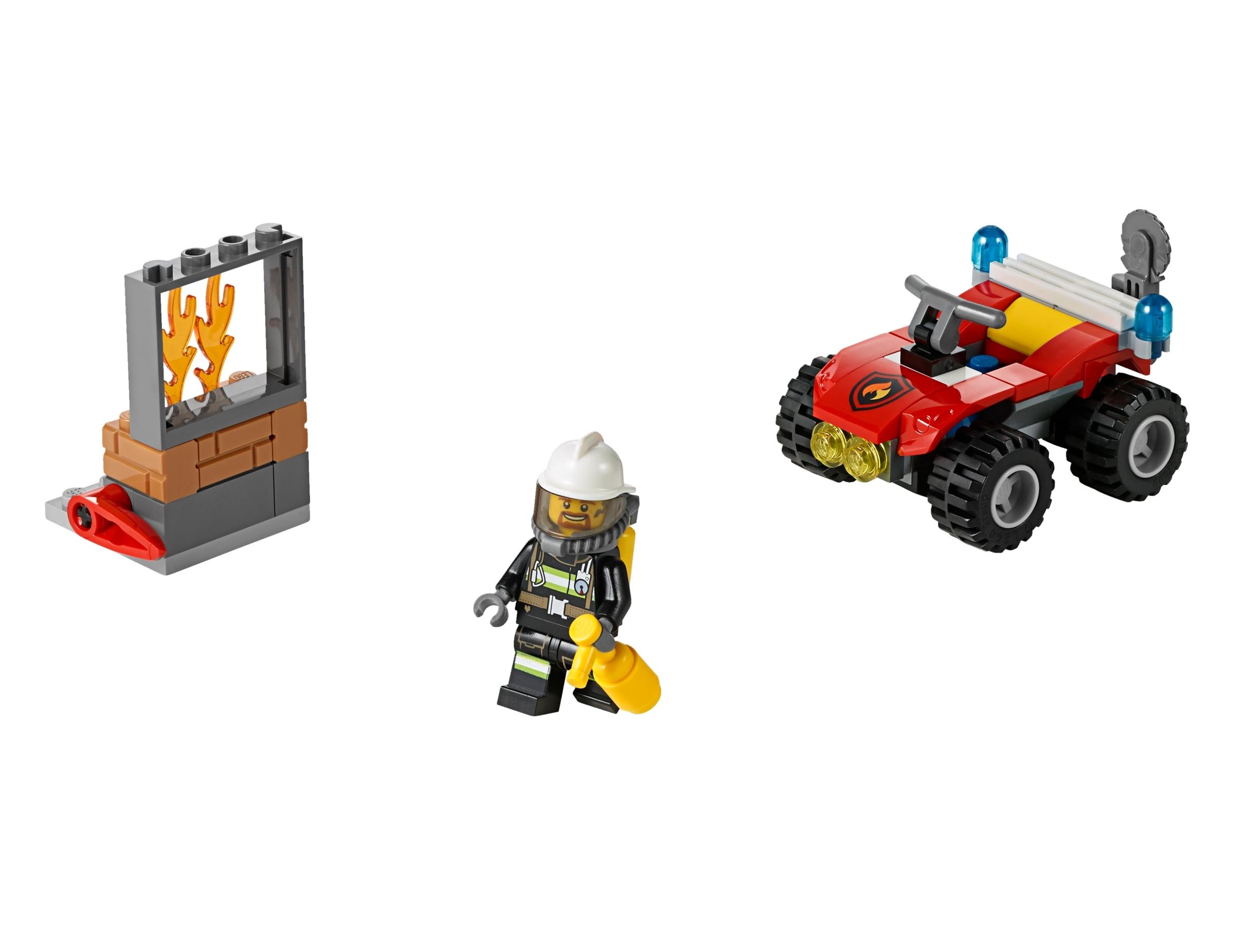 lego brandweer terreinwagen 60105