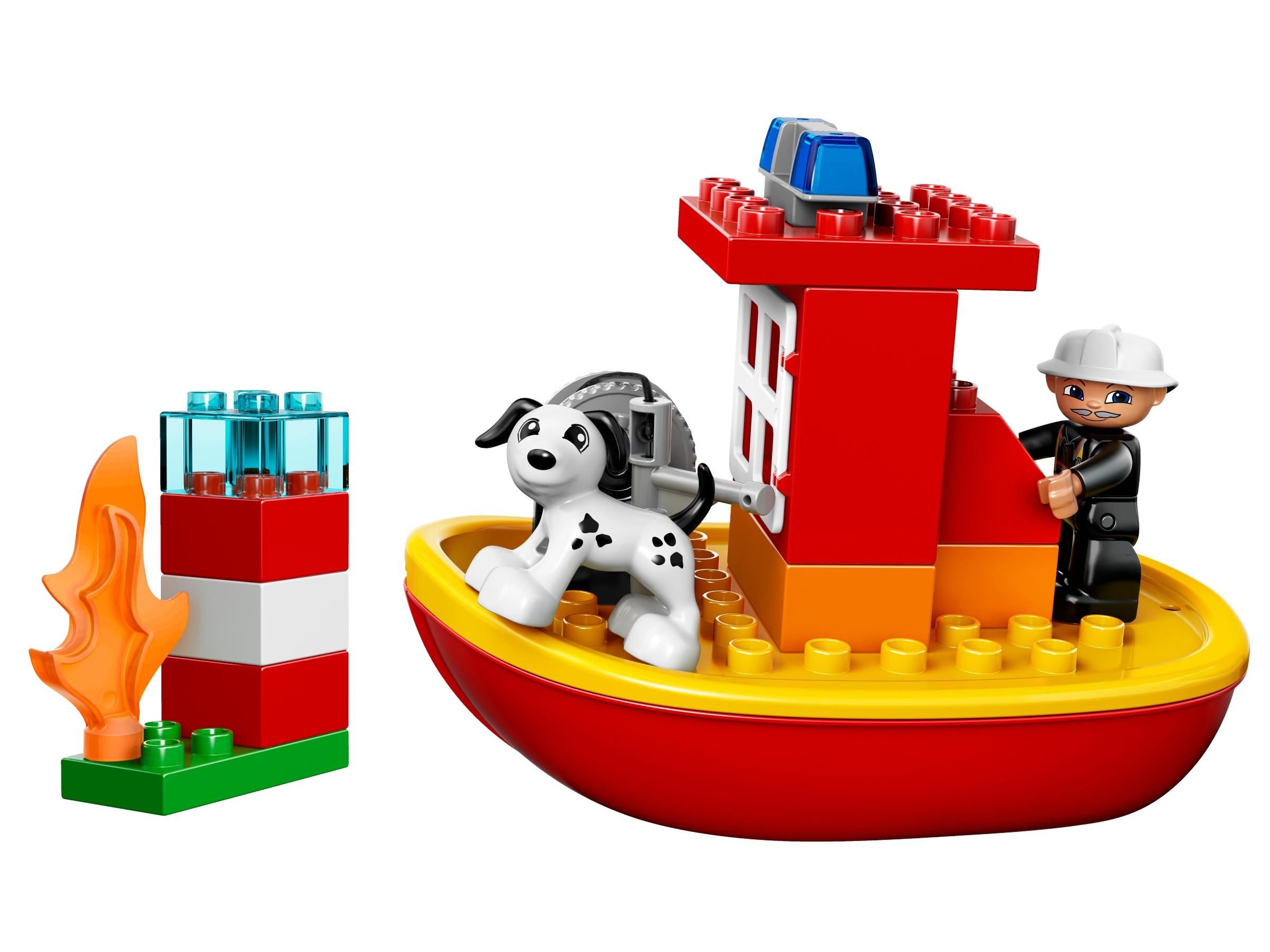 lego brandweerboot 10591