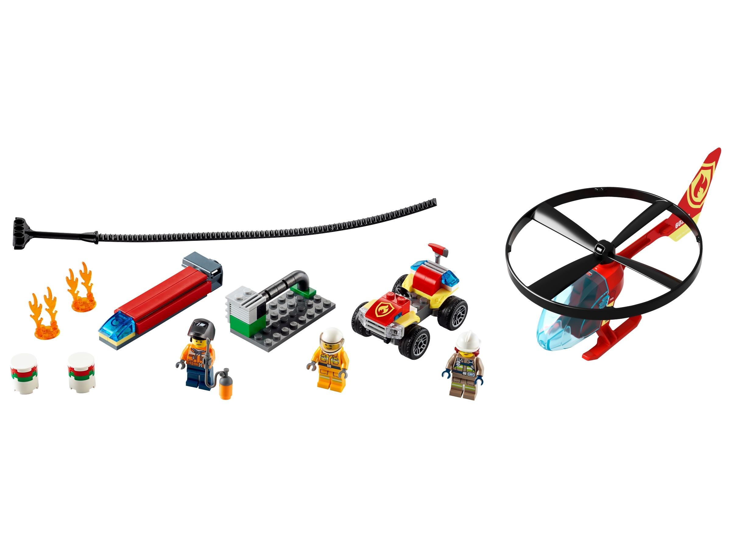 lego brandweerhelikopter reddingsoperatie 60248