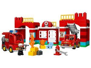 lego brandweerkazerne 10593
