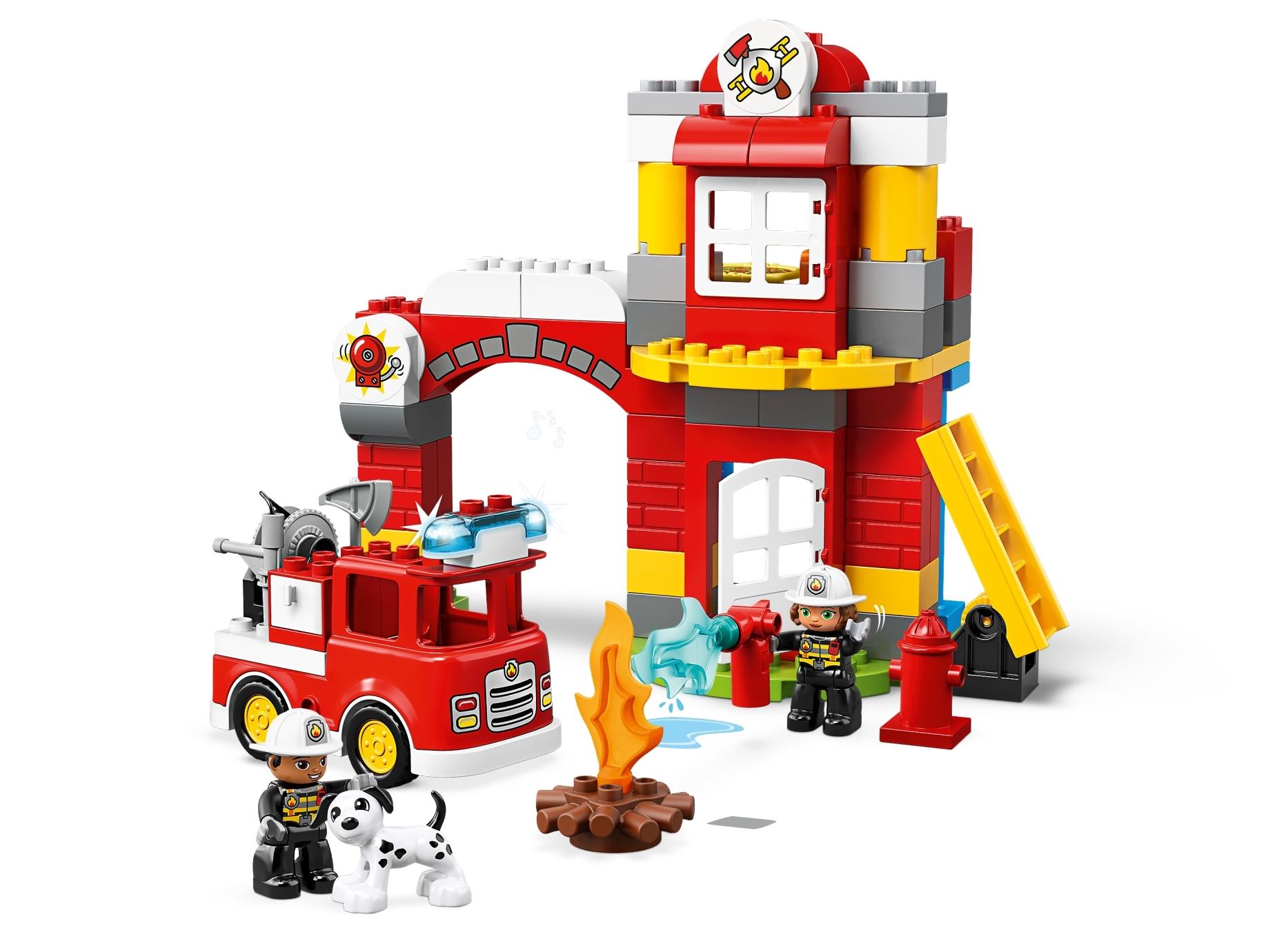 lego brandweerkazerne 10903
