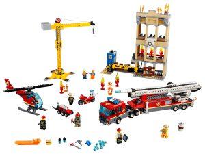 lego brandweerkazerne in de stad 60216