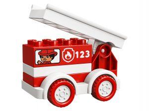 lego brandweerwagen 10917