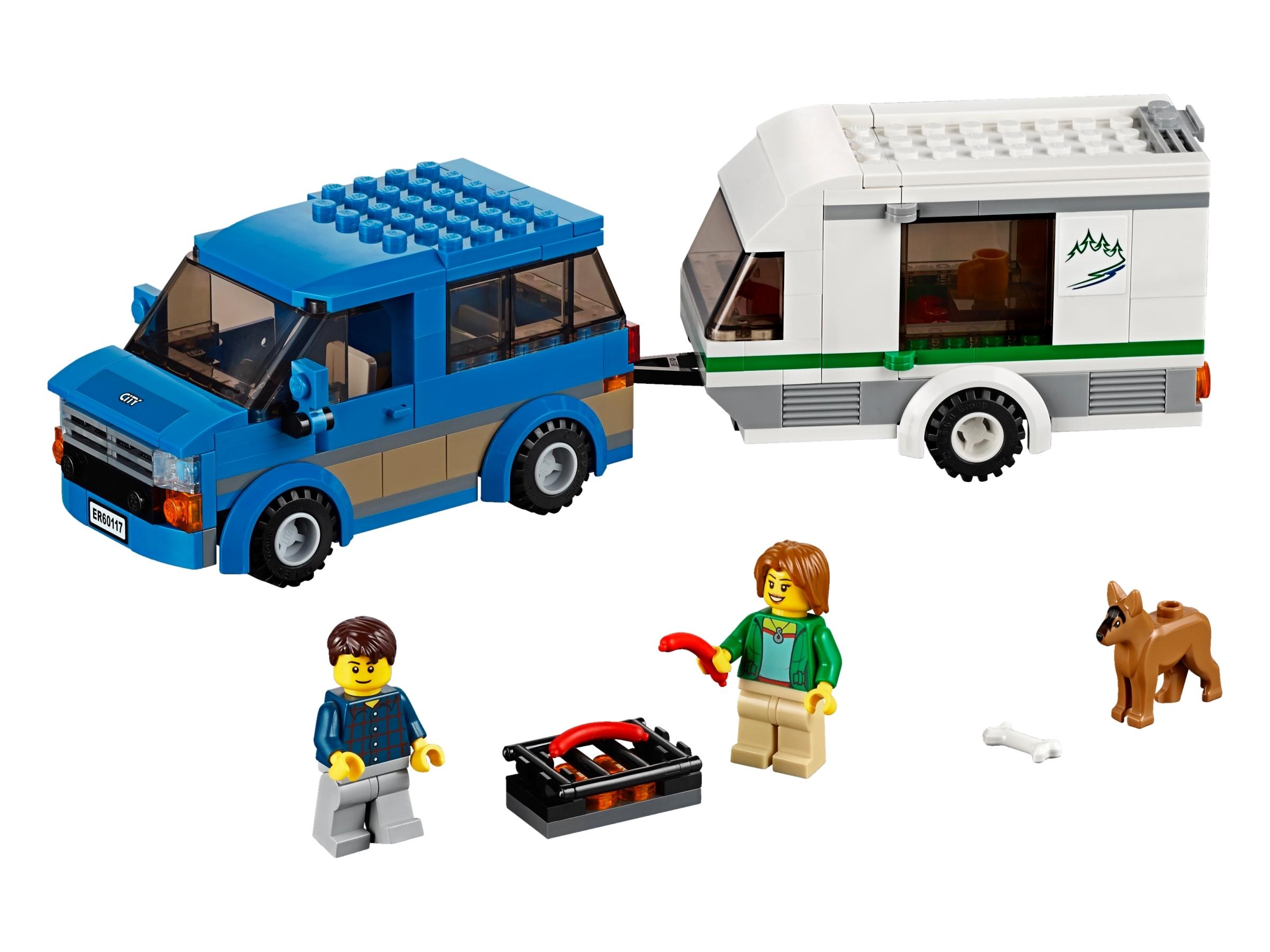 lego busje caravan 60117