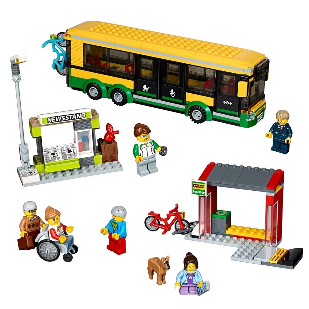 lego busstation 60154