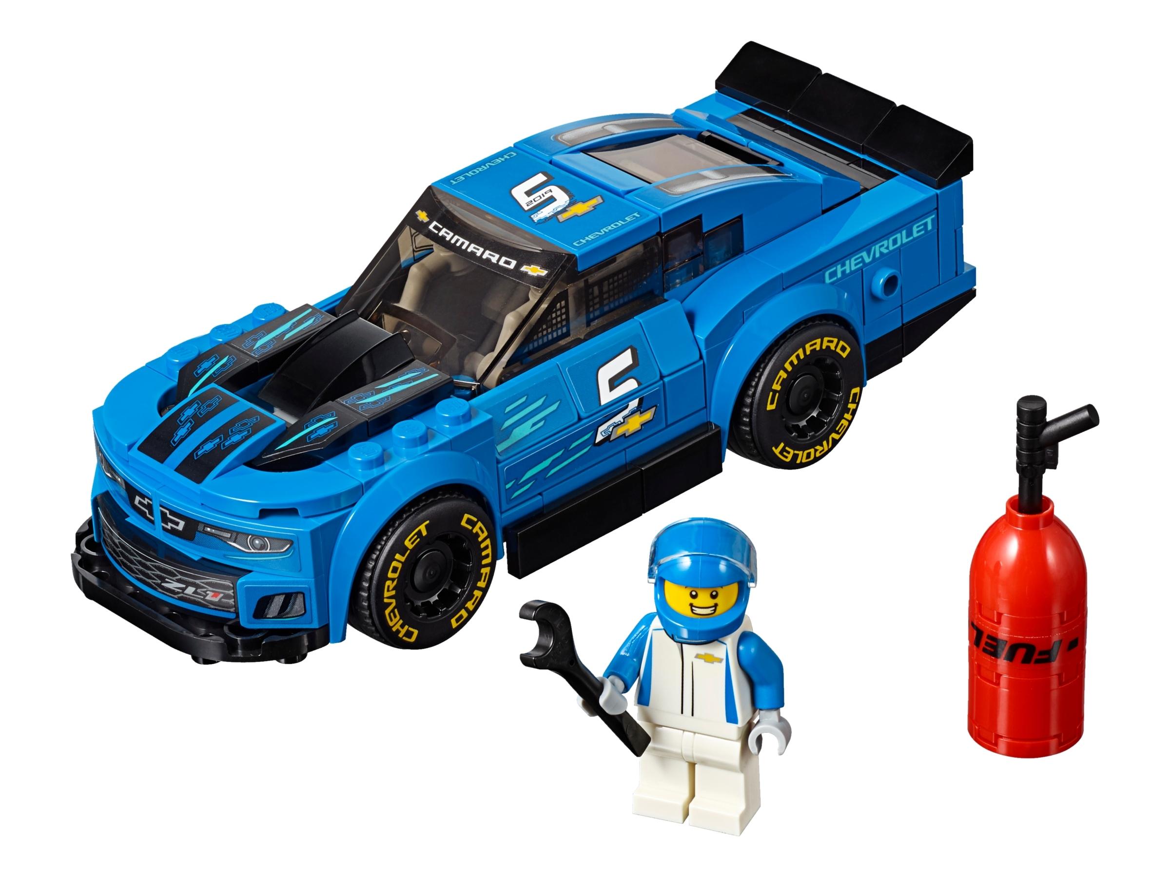 lego chevrolet camaro zl1 racewagen 75891