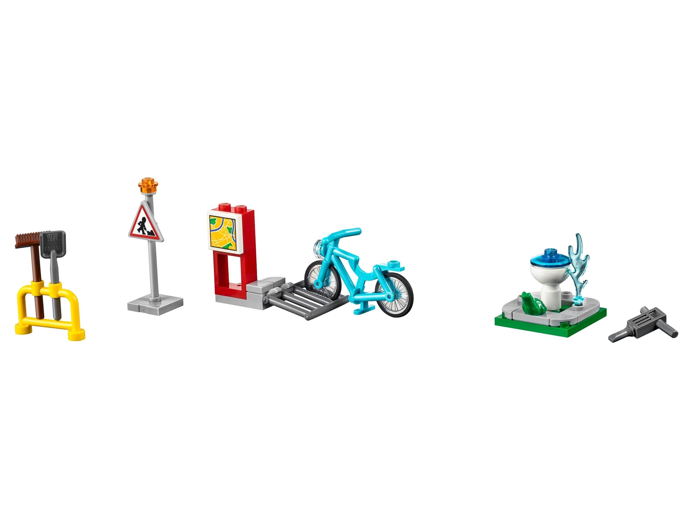 lego city bouw mijn stad accessoire set 40170