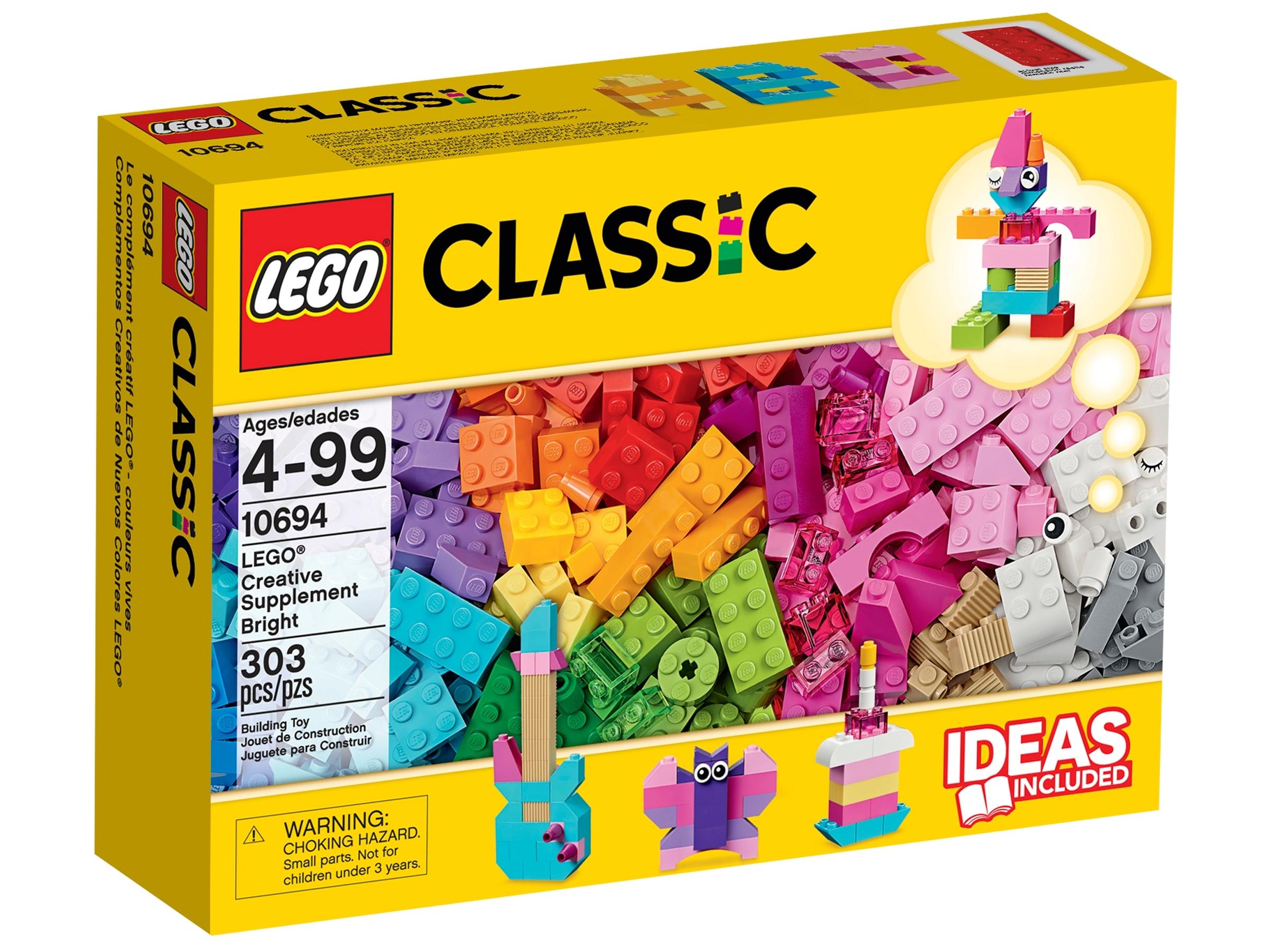 lego creatieve felgekleurde aanvulset 10694