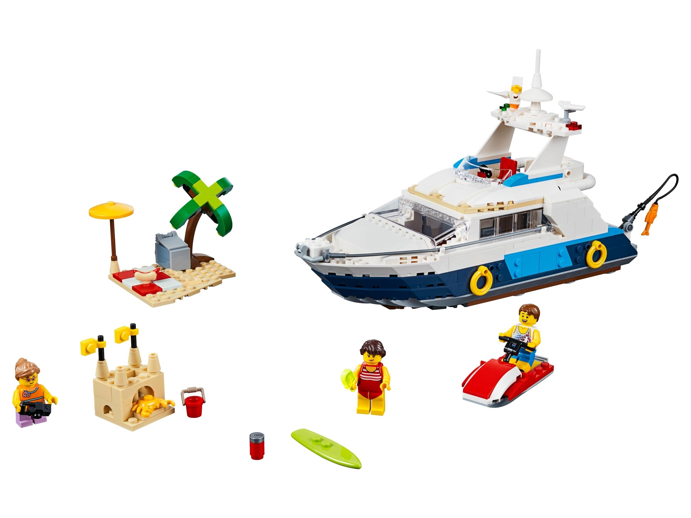 lego cruise avonturen 31083