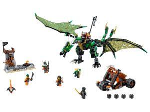 lego de groene nrg draak 70593