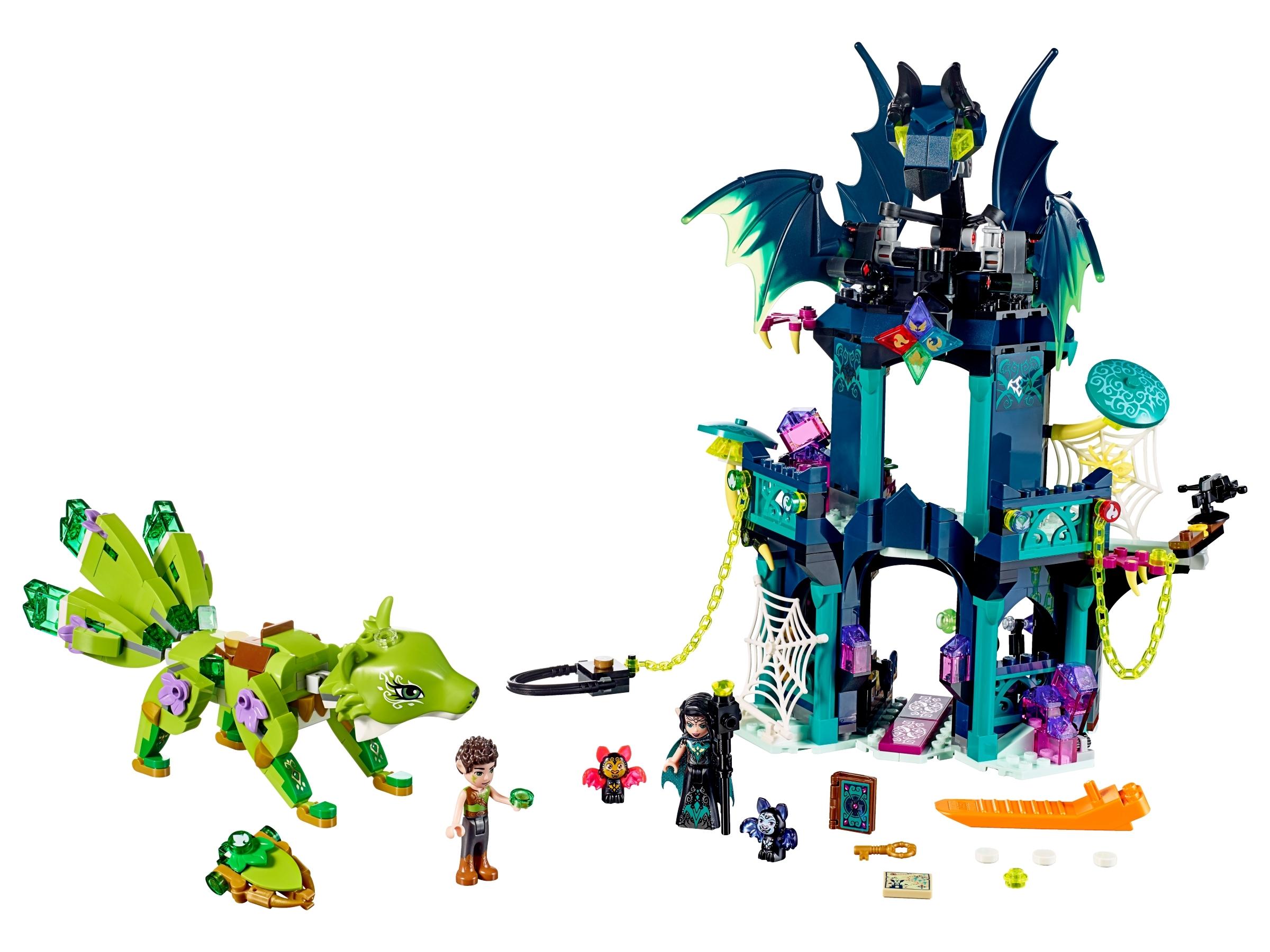 lego de toren van noctura en de redding van de aardvos 41194