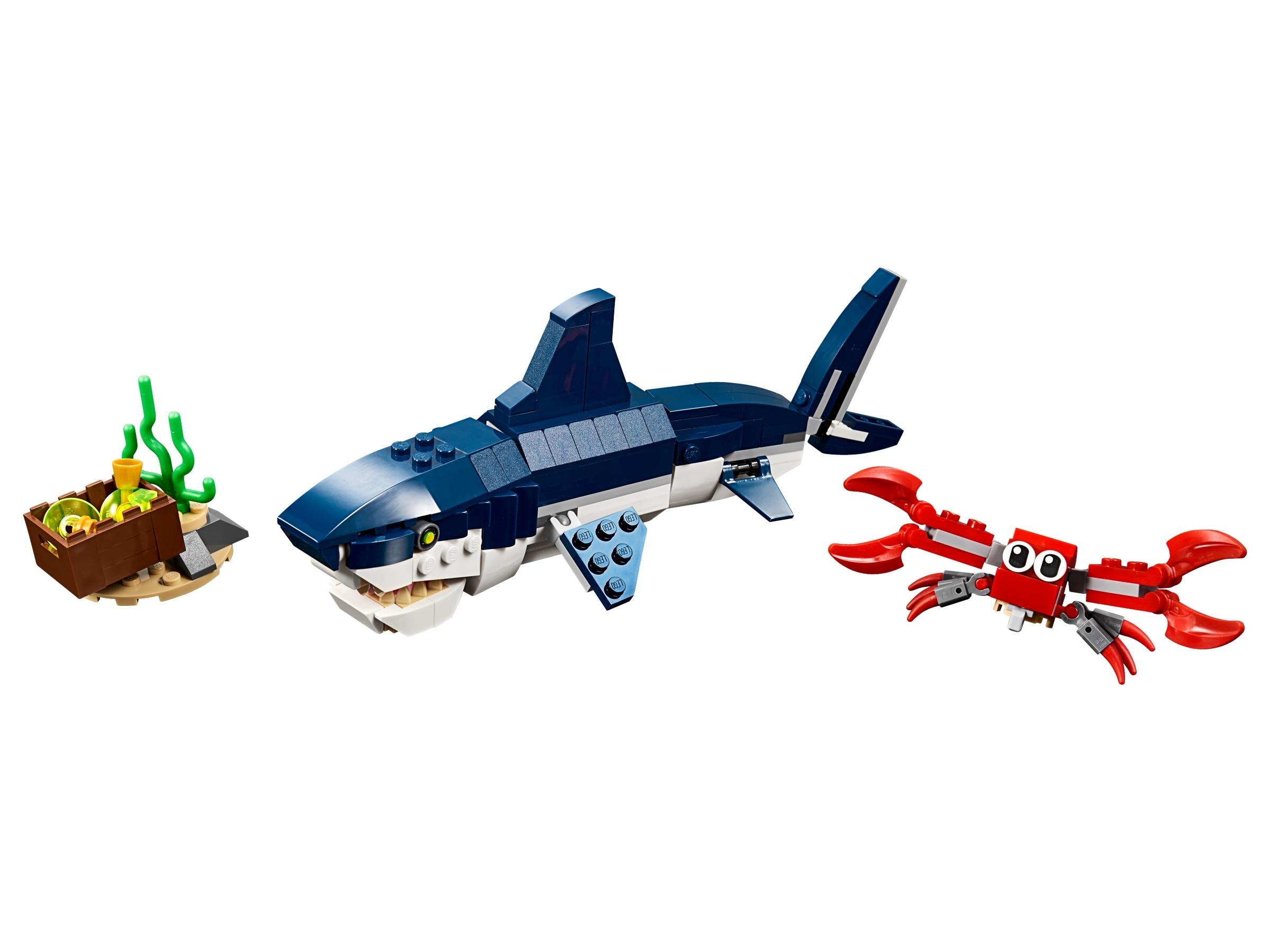 lego diepzeewezens 31088