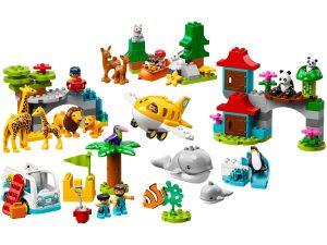 lego dieren van de wereld 10907