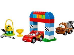 lego disney pixar cars klassieke race 10600