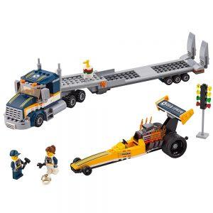 lego dragster transportvoertuig 60151