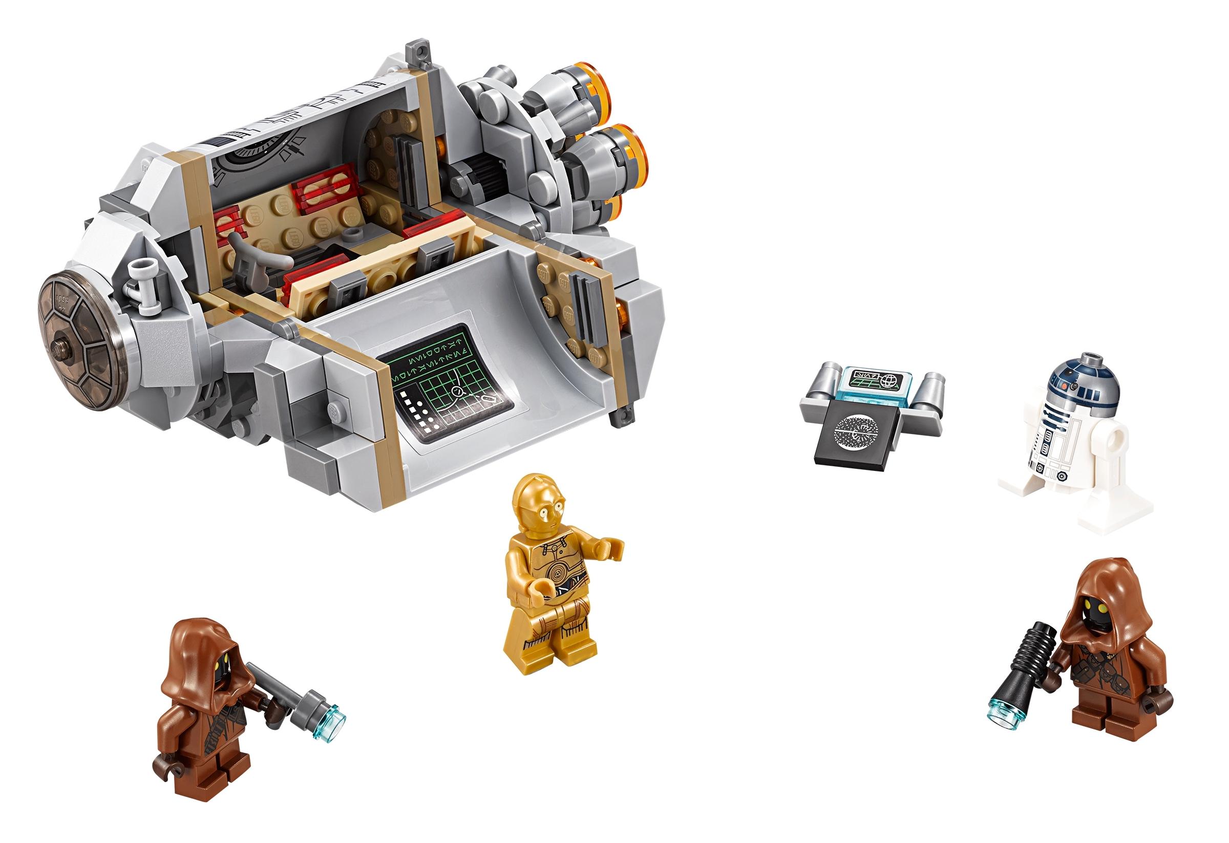 lego droid escape pod 75136