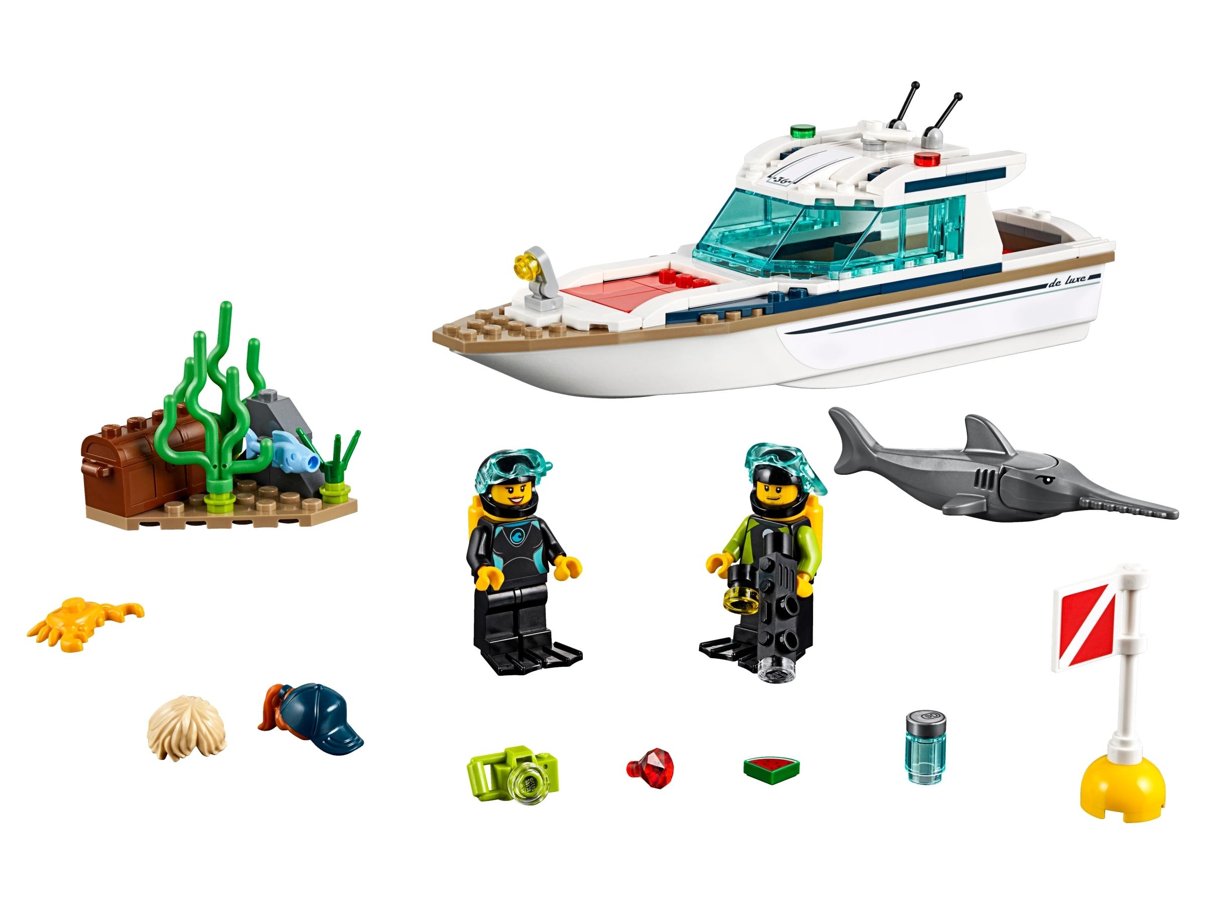 lego duikjacht 60221