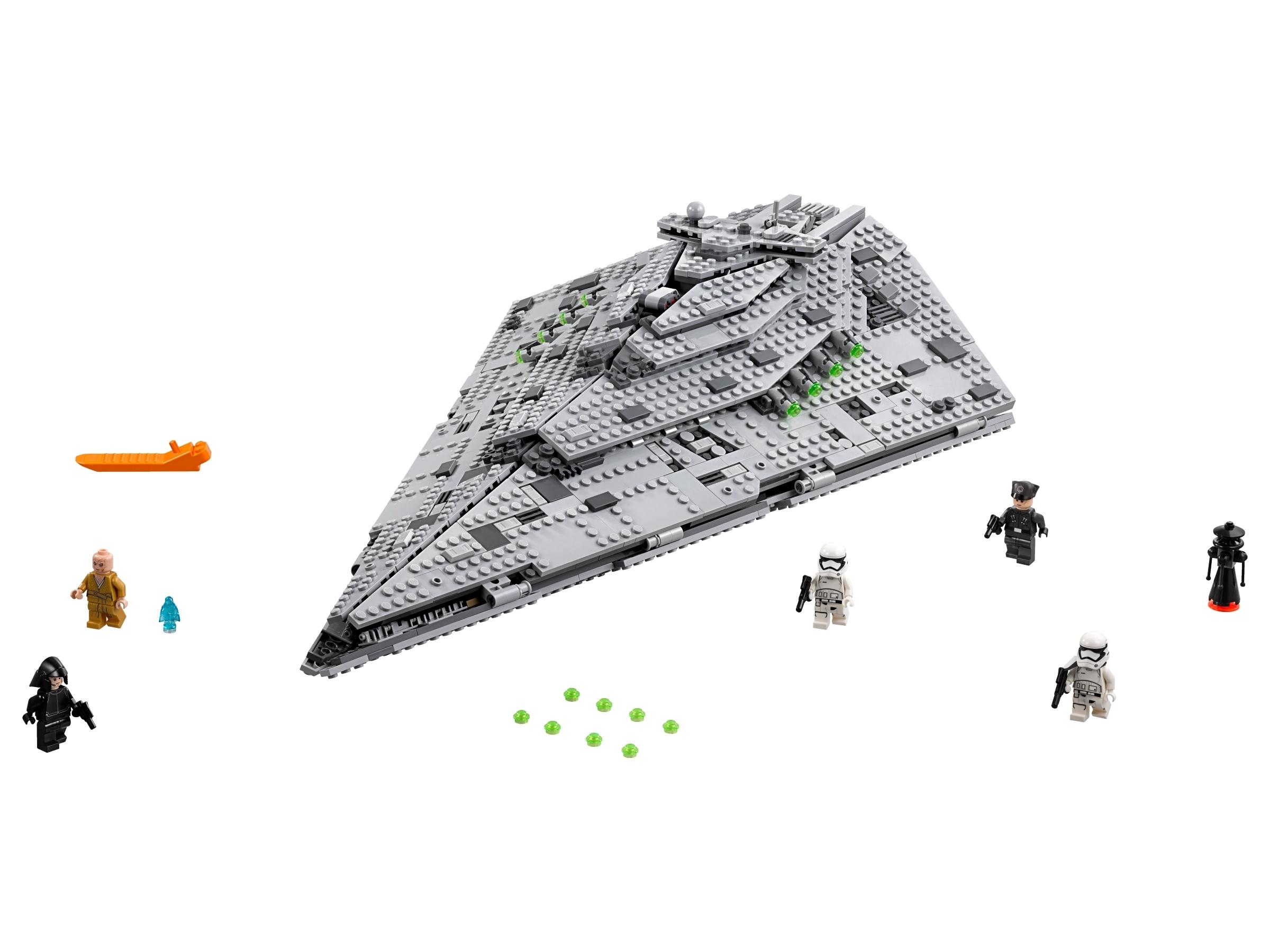 lego first order star destroyer 75190