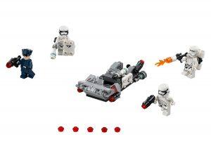 lego first order transport speeder battle pack 75166
