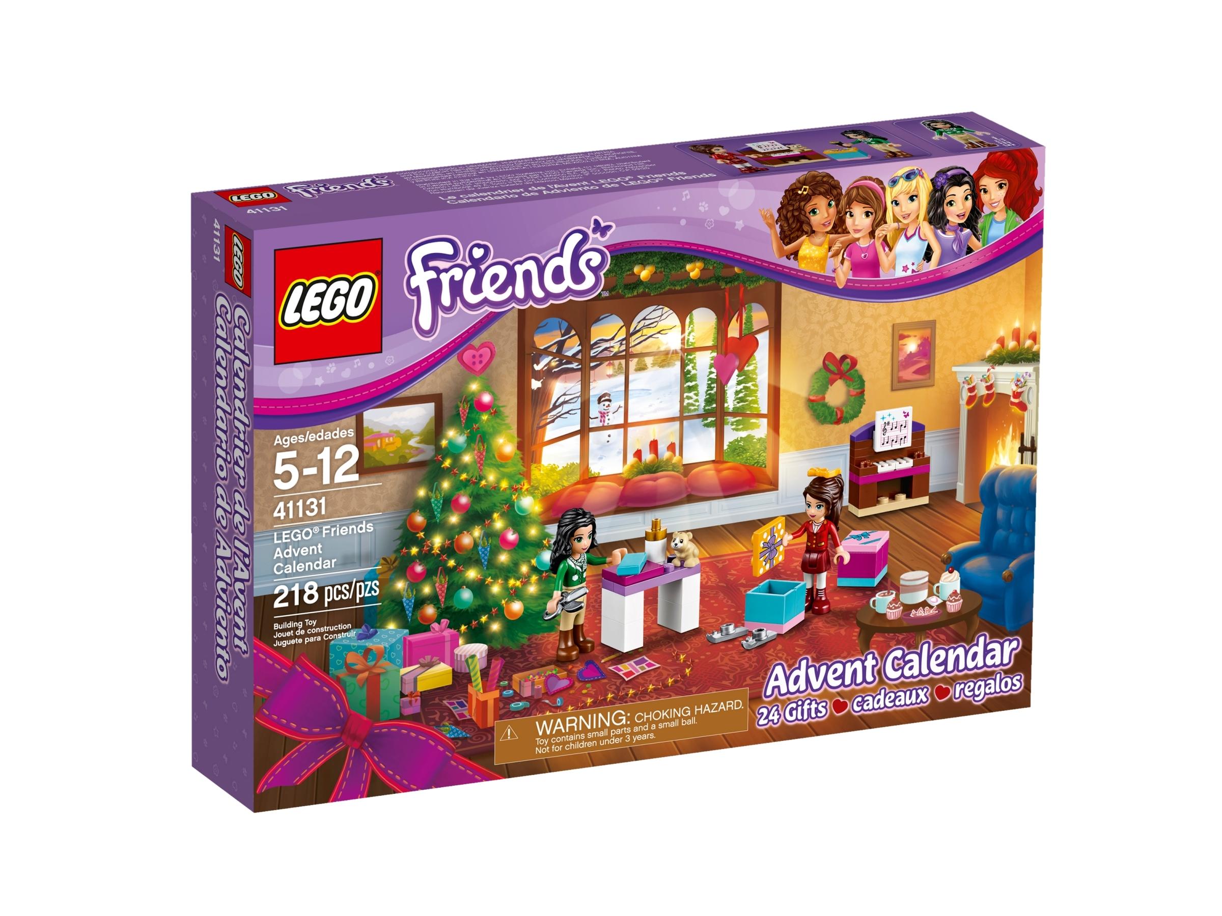lego friends adventkalender 41131