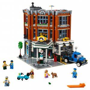 lego garage op de hoek 10264