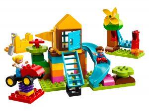 lego grote speeltuin opbergdoos 10864