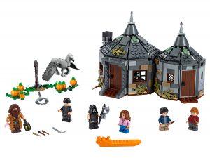 lego hagrids huisje scheurbeks ontsnapping 75947