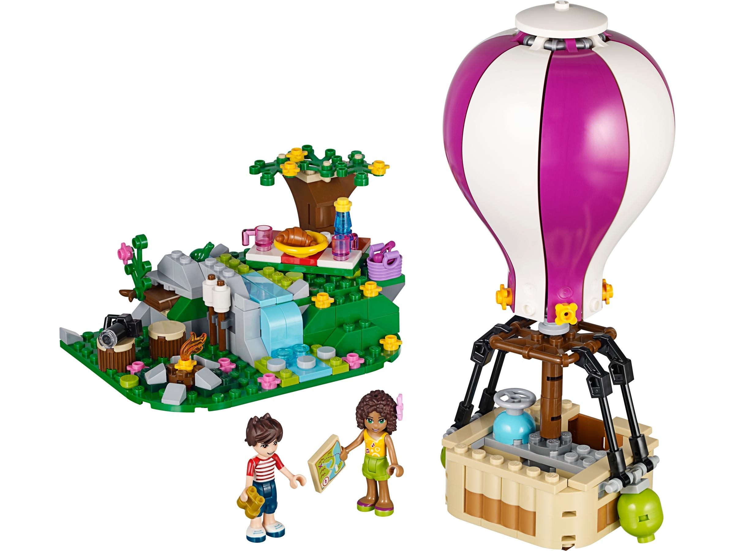 lego heartlake luchtballon 41097