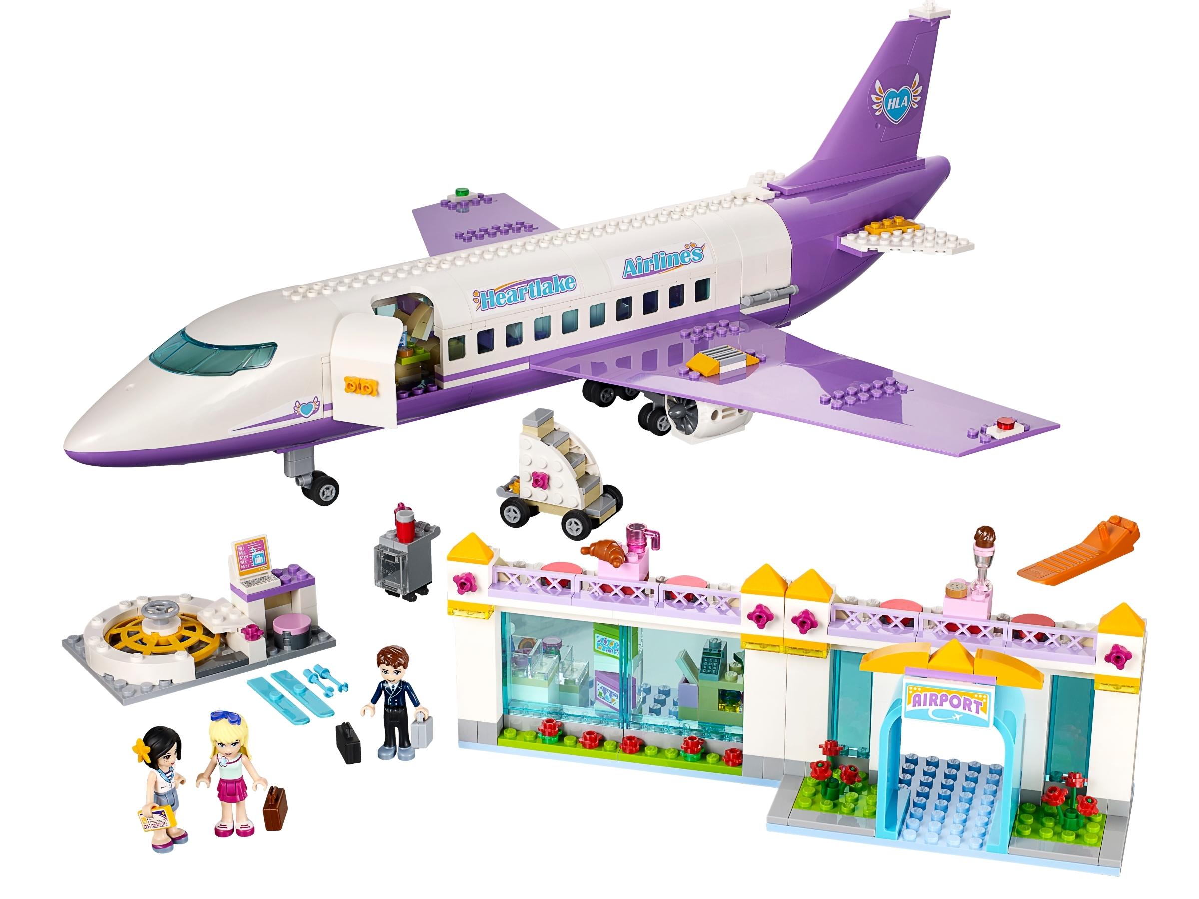 lego heartlake vliegveld 41109