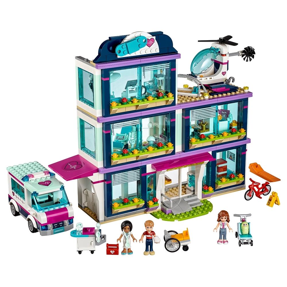 lego heartlake ziekenhuis 41318